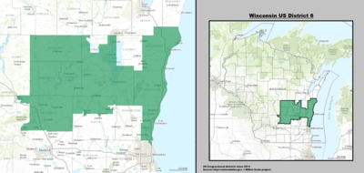 Wisconsins Congressional Districts Wikipedia - Map Door Wi Us