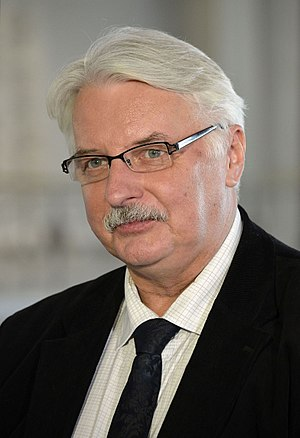 Ministry of Foreign Affairs (Poland) - Image: Witold Waszczykowski Sejm 2015