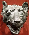Wolf head, 1-100 CE, bronze, Roman, Cleveland Museum of Art.JPG