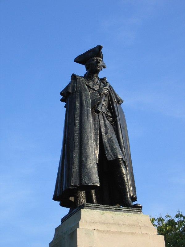 Wolfe statue