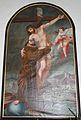 Wolfsberg - Kapuzinerkirche - Franz von Assisi umarmt den gekreuzigten Christus.jpg