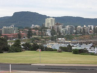 Mount Keira Suburb of Wollongong, New South Wales, Australia