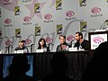 WonderCon 2011 - Human Target panel with Jackie Earle Haley, Janet Montgomery, Mark Valley and Matthew Miller (5596532419).jpg