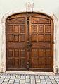 Wooden door, Murnau, Bavaria, Germany.jpg