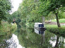 Worcester and Birmingham Canal near Birmingham University - geograph.org.uk - 1731463.jpg