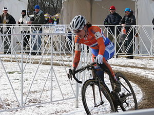 Marianne Vos - Vos during the 2013 UCI Cyclo-cross World Championships.