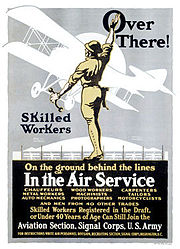 World War I US Army Air Service Recruiting Poster4