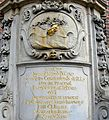 Wrocław, fragment cokołu pomnika św. Jana Nepomucena przed kościołem pw. św. Macieja.jpg