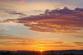 Wschód słońca nad południowym Krakowem, 20201007 0653 4342.jpg