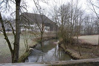 Wyna (river) - The Wyna in Suhr