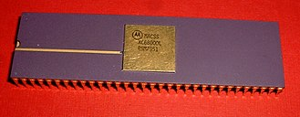 Motorola 68000 - Pre-release XC68000 chip manufactured in 1979