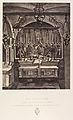 XIe Station. Jésus est cloué sur la croix. Cette station se trouve placée au pied même de l'autel. MET DP345544.jpg