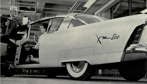 Mercury XM-800 - XM-800 at University of Michigan, 1957