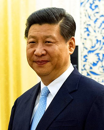 Xi Jinping, o atual presidente do país. - República Popular da China