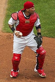 Yadier Molina American baseball player