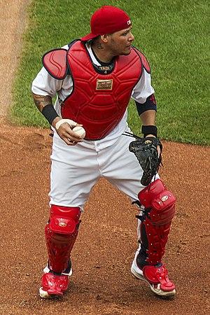 Yadier Molina - Molina with the St. Louis Cardinals
