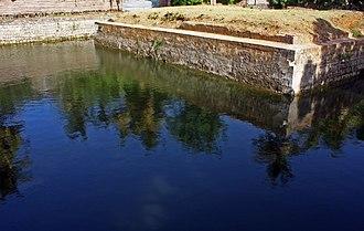 Jaffna Kingdom - Yamun Eri filled with water from the Yamuna river.