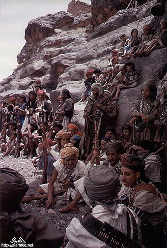 Yemeni tribesmen who supported al-Badr Yemen 1962 600.jpg