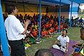 Yoga Demonstration - Football Workshop - Nisana Foundation - Sagar Sangha Stadium - Baruipur - South 24 Parganas 2016-02-14 1375.JPG