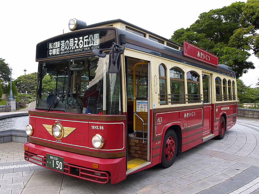 Yokohamacitybus 4-3773 akaikutsu