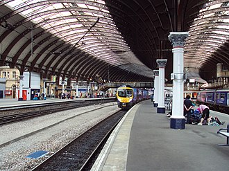 York railway station - The station in 2010