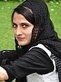 Young Woman in Nishat Bagh Garden - Srinagar - Jammu & Kashmir - India (26842556375).jpg
