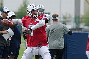 Zach Mettenberger - Mettenberger with the Titans at 2014 training camp