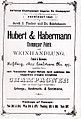 Zeitgenössisches Werbeplakat des Sektkellerei Hubert.jpg