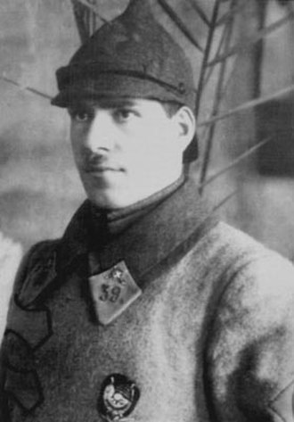 Georgy Zhukov - Georgy Zhukov, commander of the 39th Buzuluk Cavalry Regiment, 7th Cavalry Division Samara (1923)