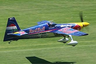 Red Bull Air Race World Championship - Zivko Edge 540.