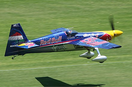 Zivko Edge 540. Zivko Edge 540 at Red Bull Air Race on Langley Park Monty-1.jpg