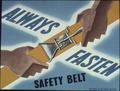 """Always fasten safety belt"" - NARA - 513785.tif"