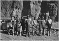 """Negroes employed as drillers on the construction of Hoover Dam."" - NARA - 293747.tif"