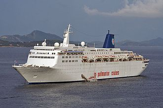 Atlantic Star (cruise ship) - Sky Wonder in Dubrovnik, Croatia.