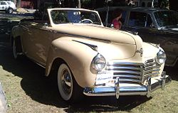 1941er Chrysler New Yorker Cabrio