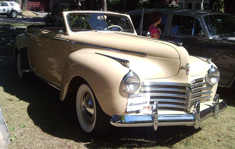 Chrysler New Yorker convertible – 1941 | Pin X Cars