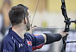 'I AM' Aiming and Supporting My Country, Archery Preliminaries at 2016 Invictus Games 160508-F-WU507-011.jpg