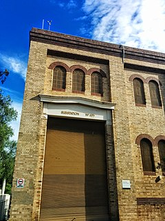 heritage-listed electrical substation at 982-984 Pacific Highway, in the Sydney suburb of Pymble, in the Ku-ring-gai Council local government area of New South Wales, Australia