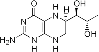 Tetrahydrobiopterin chemical compound