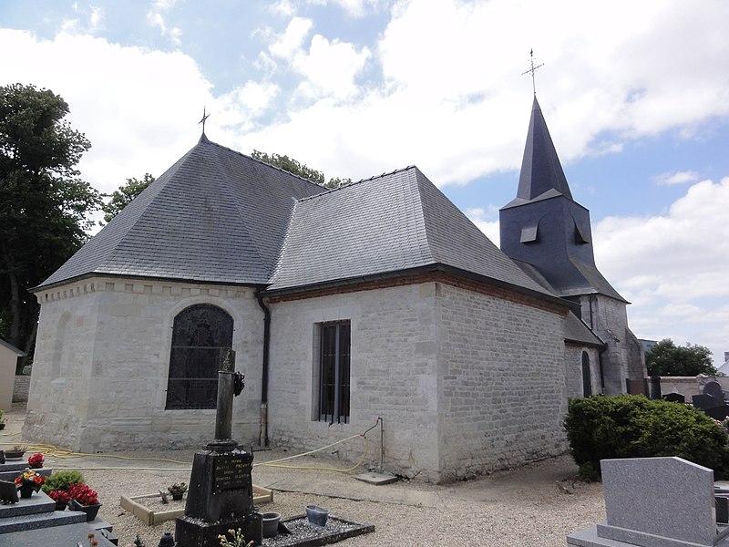 Ébouleau (Aisne) église