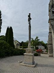 calvaire de l'église Saint-Juvénal du Moustoir