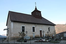 The 17th century church of Saint-Martin