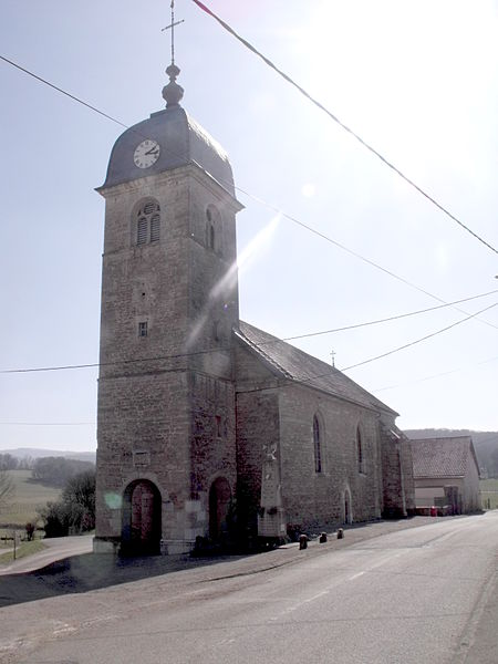 église de Chazot, Doubs, France