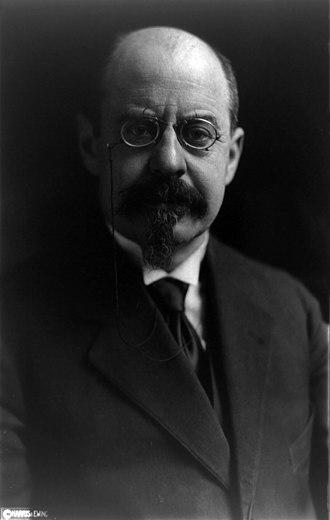 Emile Vandervelde - Vandervelde, pictured in 1919