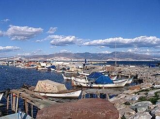 Gulf of İzmir - The Bay as seen from İnciraltı