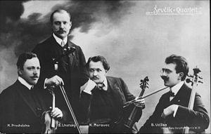 Ševčík-Lhotský Quartet - Ševcik Quartet