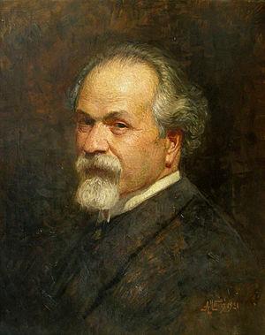 Anton Mitov - Self-portrait (date unknown)