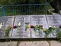 Братская могила, списки погибший (левая сторона).jpg