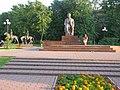 Волжский бульвар, памятник М.А.Шолохову, м.Кузьминки, Москва, Россия. - panoramio.jpg