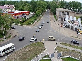 Volzhsk Town in Mari El, Russia